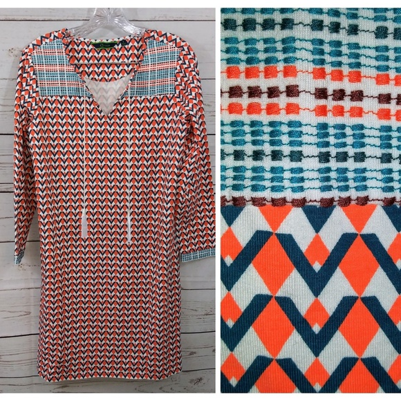 C. Wonder Dresses & Skirts - C.Wonder Dress Geometric Triangle Design NWOT A37